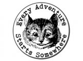 Every Adventure Starts Somewhere Button badge