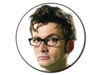 Dr Who 10th Doctor - David Tennant Button badge