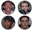 Ghostbusters Button Badge Set