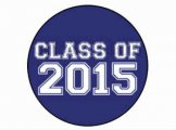 Class of 2015 Button Badge