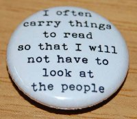"""I often carry things to read"" Charles Bukowski Quote"