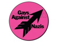 Gays against Nazis Button Badge