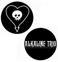 Alkaline Trio Button Badge Set